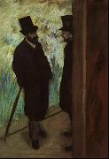Edgar Degas Halevy and Cave Backstage at the Opera oil painting picture wholesale