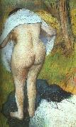 Edgar Degas Girl Drying Herself oil painting picture wholesale