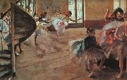 Edgar Degas The Rehearsal oil painting picture wholesale