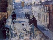 Edouard Manet La Rue Mosnier aux Paveurs oil painting picture wholesale