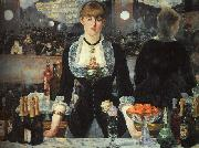 Edouard Manet The Bar at the Folies Bergere oil painting picture wholesale