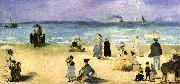 Edouard Manet On the Beach at Boulogne oil painting picture wholesale
