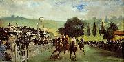 Edouard Manet Course De Chevaux A Longchamp oil painting picture wholesale