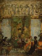 Edouard Vuillard The Library oil painting picture wholesale
