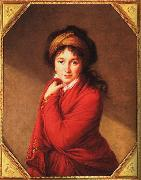 Elisabeth LouiseVigee Lebrun Countess Golovine oil painting artist