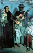 Emile Bernard Spanish Musicians France oil painting reproduction