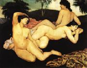 Emile Bernard After the Bath oil painting picture wholesale