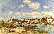 Eugene Boudin Trouville France oil painting reproduction