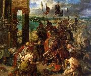 Eugene Delacroix The Entry of the Crusaders into Constantinople France oil painting reproduction