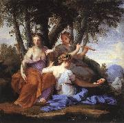 Eustache Le Sueur Clio Euterpe and Thalia oil painting picture wholesale
