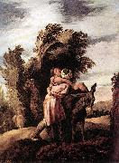 FETI, Domenico Parable of the Good Samaritan dfgj oil painting picture wholesale