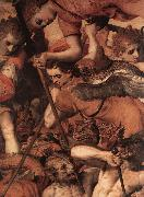 FLORIS, Frans The Fall of the Rebellious Angels (detail) dg oil painting picture wholesale