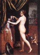 FONTANA, Lavinia Minerva Dressing dfh oil painting picture wholesale