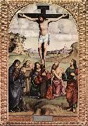 FRANCIA, Francesco Crucifixion xdfgs oil painting artist