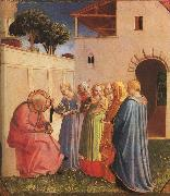 Fra Angelico The Naming of John the Baptist oil painting artist