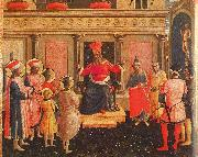Fra Angelico Saints Cosmas and Damian with their Brothers before Lycias oil painting picture wholesale