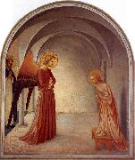 Fra Angelico The Annunciation oil painting artist