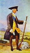 Francisco Jose de Goya Charles III in Hunting Costume oil painting picture wholesale