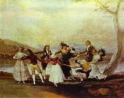 Francisco Jose de Goya Blind's Man Bluff oil painting picture wholesale