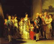 Francisco Jose de Goya Charles IV and His Family oil painting picture wholesale