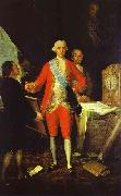 Francisco Jose de Goya Francisco de Goya the Count of Floridablanca and Goya. oil painting picture wholesale
