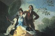 Francisco de Goya The Parasol oil