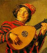 Frans Hals Jester with a Lute oil painting picture wholesale