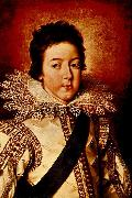 Frans Pourbus Louis XIII as the Dauphin oil painting artist
