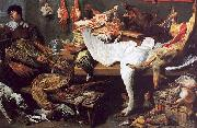 Frans Snyders A Game Stall oil