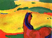 Franz Marc Horse in a Landscape oil painting picture wholesale