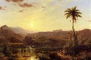 Frederic Edwin Church The Cordilleras Sunrise oil painting picture wholesale