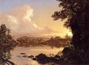Frederic Edwin Church Scene on the Catskill Creek oil painting picture wholesale