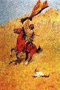 Frederick Remington If Skulls Could Speak oil painting picture wholesale
