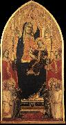 GADDI, Taddeo Madonna and Child Enthroned with Angels and Saints sd oil painting picture wholesale
