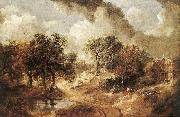 GAINSBOROUGH, Thomas Landscape in Suffolk sdg oil painting picture wholesale