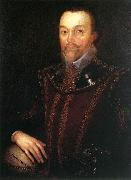 GHEERAERTS, Marcus the Younger Sir Francis Drake dfg oil