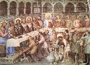 GIUSTO de  Menabuoi Marriage at Cana sgh oil painting artist