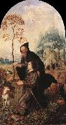 GOSSAERT, Jan (Mabuse) St Anthony with a Donor dfg oil painting picture wholesale