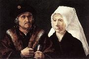 GOSSAERT, Jan (Mabuse) An Elderly Couple cdfg oil painting picture wholesale
