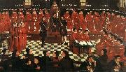 GOSSAERT, Jan (Mabuse) The High Council sdg oil painting picture wholesale