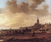 GOYEN, Jan van Beach at Scheveningen df oil painting picture wholesale