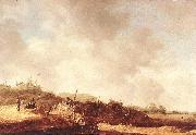 GOYEN, Jan van Landscape with Dunes dxg oil painting artist