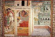 GOZZOLI, Benozzo Scenes from the Life of St Francis (Scene 2, north wall) cd oil painting picture wholesale