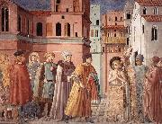 GOZZOLI, Benozzo Scenes from the Life of St Francis (Scene 3, south wall) sdg oil painting picture wholesale