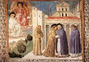 GOZZOLI, Benozzo Scenes from the Life of St Francis (Scene 4, south wall) sdg oil painting picture wholesale