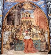 GOZZOLI, Benozzo Scenes from the Life of St Francis (Scene 12, south wall) dfhg oil painting picture wholesale