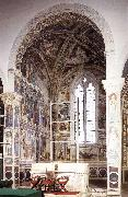 GOZZOLI, Benozzo View of the apsidal chapel fh oil painting picture wholesale