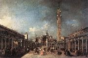 GUARDI, Francesco Piazza di San Marco dfh oil painting picture wholesale