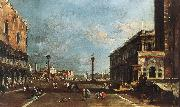 GUARDI, Francesco View of Piazzetta San Marco towards the San Giorgio Maggiore sdg oil painting picture wholesale