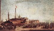 GUARDI, Francesco The Piazzetta, Looking toward San Giorgio Maggiore dh oil painting picture wholesale